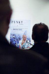 Brian Eno_pressekonf_bak (Foto: Arild Danielsen)