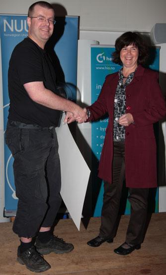 EFN-NUUG-prisen (Foto: hio)