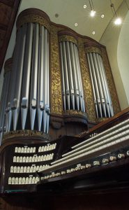 Orglet i Ålesund kirke/Foto: Odd Olsvik