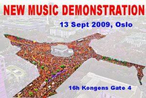 Ny musikk-demonstrasjon