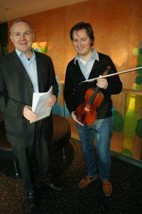 Detlef Hahn og Bjarne Magnus Jensen/Foto: Norges musikkhøgskole