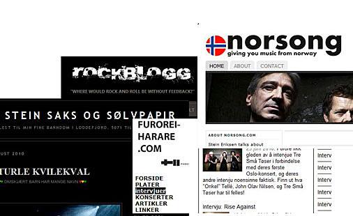 Norske musikkblogger