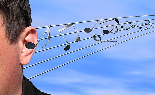 Musikk i skyene