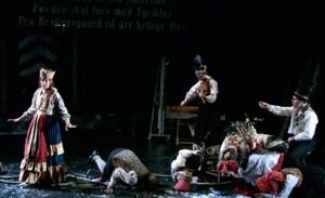 """Fra Grusomhetens teaters versjon av """"Fjeldfuglen"""""""