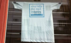 Vinyl kills the MP3-industry