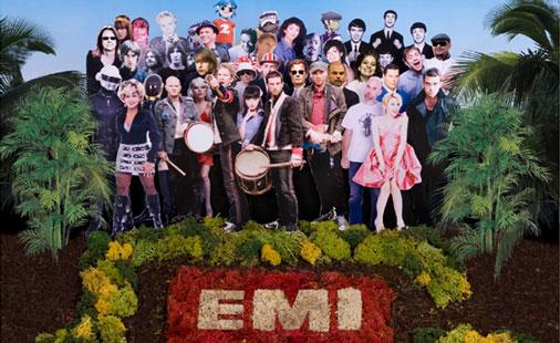 EMI Sgt Pepper-logo