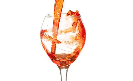 Rødvin illustrasjon