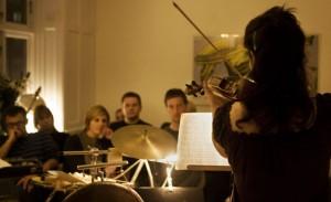 Fra Living Room - en konsertserie holdt i private hjem.