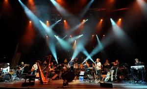 Jaga Jazzist og Britten Sinfonia i Barbican, London 16. juni 2012