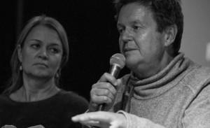 Marte Thorsby (IFPI) og Larry Bringsjord (MTG/FONO)