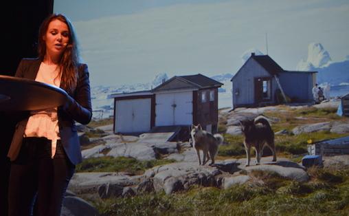 I Disco Bay legger man fra seg all fornuft og virkelighet, forteller Arnbjörg María Danielsen
