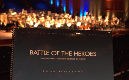 Selv ganske uten visuelle effekter (med unntak av nevnte Stormtroopers) skapte Oslo-Filharmonien verdensrommet i konsertsalen, skriver Maren Ørstavik. Foto: Johannes Granseth