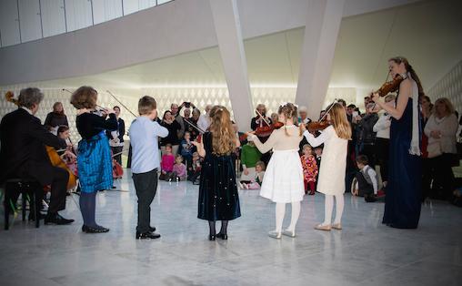 Denne dagen var for utøvarane medan filharmonidagen var for publikum, skriv Tori Skrede.