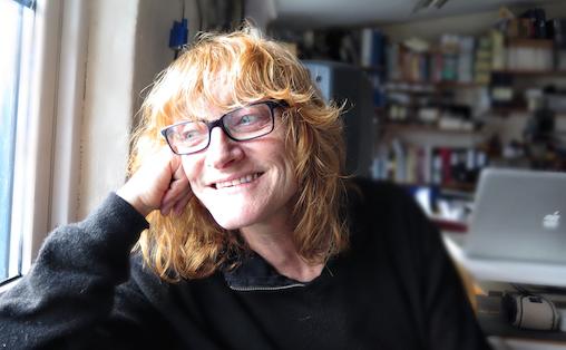 - Jeg liker kombinasjonen av varighet og tilstand, sier Maja Urstad. Foto: Tellef Øgrim.