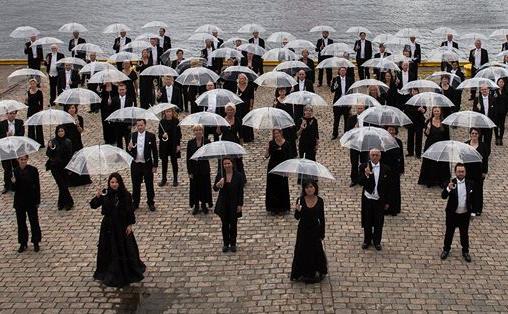 Bergen Filharmoniske Orkester fremfører musikk av Nordheim og Nørgård under konserten Nordisk Prisme i juni. Foto: Oddleiv Apneseth.