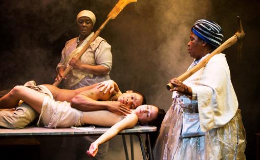 Fra Mies Julie, en sørafrikansk versjon av Strindbergs Frøken Julie. © MURDO MACLEOD