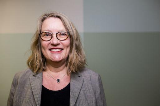Anne-Britt Gran leder forskningssenteret BI:CCI som har mange musikkprosjekter på trappene Foto: BI:CCI