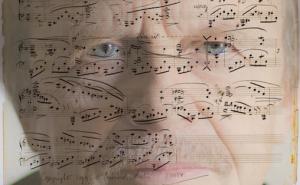Håkon Austbø  / Brahms' op. 118 (komponistens manuskript) Foto: Ivan Tostrup
