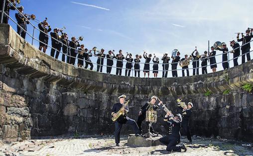 Marinemusikken holder til i Horten. Korpset omtaler seg selv som kulturbærer i Sjøforsvaret siden 1820. Foto: forsvaret