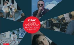 Forsiden på CISAC Global Collections Report 2015