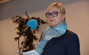 Kulturminister Thorild Widvey Foto: Kulturdepartemenet