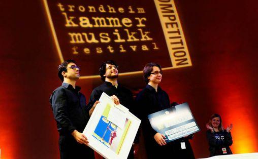 Trio Isimsiz fra London Foto: Ole-Einar Andersen / Trondheim Kammermusikkfestival