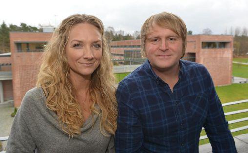 Hilde Norbakken og Askil Holm Foto: Universitetet i Agder