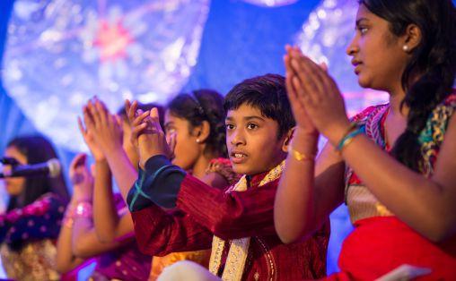 Barnas Verdensdager Foto: Lars Opsta