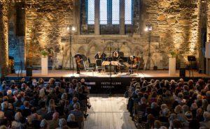 Den danske strykekvartett. Festspillene i Bergen 2015.  Foto: Thor Møller