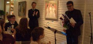 Det norske blåeseensemble kåret til årets utøver 2015. Direktør for ensemblet, Geir Rebbestad, mottok prisen på vegne av musikerne.