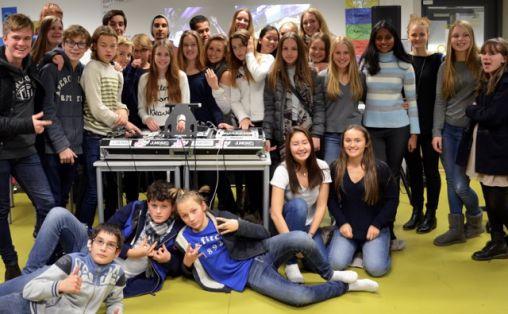 Oh Mama! DJ-kurs på Majorstuen skole. V Foto: Linn Carin Dirdal