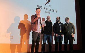 Musikkflekken ble Årets helårsarrangør 2014 Foto: Norske Konsertarrangører