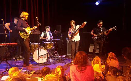 Detah By Unga Bung på Blårollinger på Parkteateret Foto: Periskop