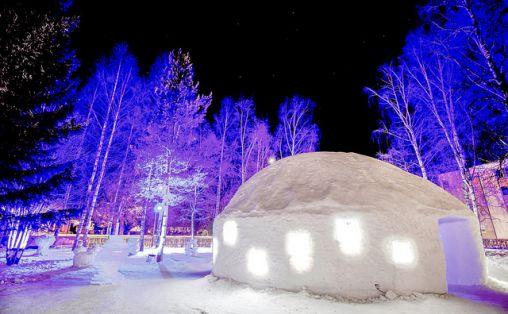 Igloo Disco. Foto: Alexander Eriksson / Lillehammer 2016