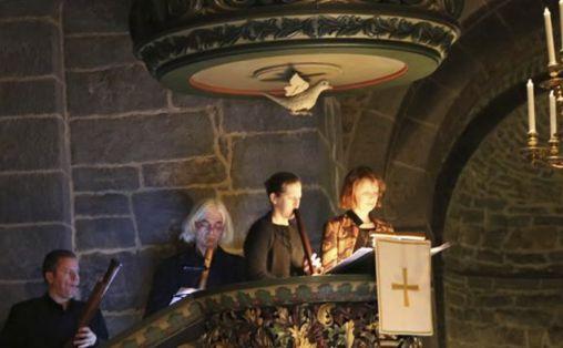 Barokkanerne i Gamle Aker kirke Foto:  Julie Krol