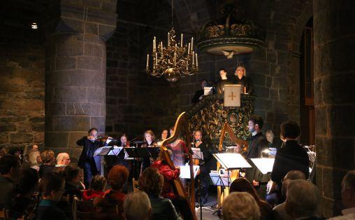Barokkanerne i Gamle Aker kirke. Foto: Julie Krol