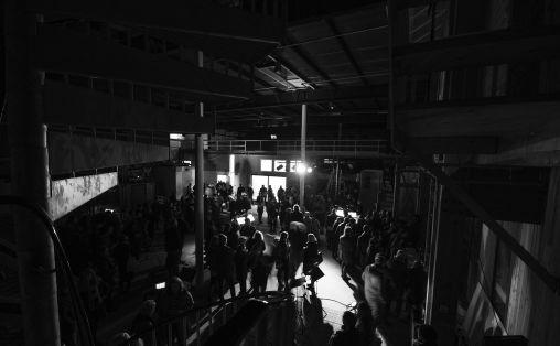 Fra åpningskonserten på Borealis 2015 Foto: Magnus Håland Sunde