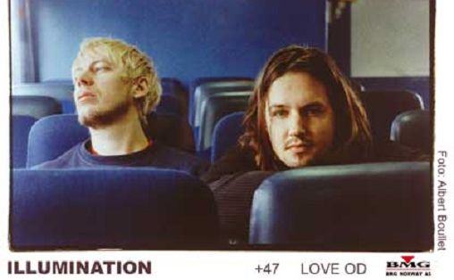 """""""Official promotional picture from 2000, for the international release of «This is Illumination». Back in the days when me and Per did all our press/promo out of BMG Norway 24/7 - and managed to get picked up in several countries, which was a little unusual then for Norwegian «electronica». We were thin then. Young, dumb and full of... Good times!"""" Foto: Albert Bouillet."""