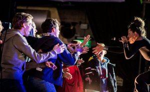 Artisten Cleo under en konsert i regi Rikskonsertene og DKS Foto: Lars Opstad / Rikskonsertene