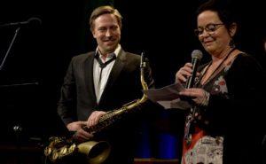 Hakon Kornstad og Ingrid Brattset Foto: Norsk Jazzforum / Francesco Saggio