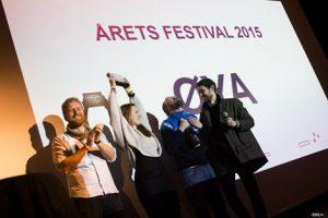 Øya vinner pris for Årets festival 2015. Foto: Helge Brekke.