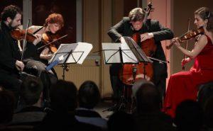 Gringolts Quartet konsert i Gamle Logen