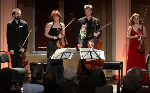 Gringolts Quartet konsert i Gamle Logen. Foto: John Petter Reinertsen.