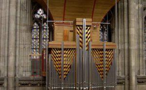 Utsnitt av orgelet i Kølnerdomen. Foto: Wikipedia