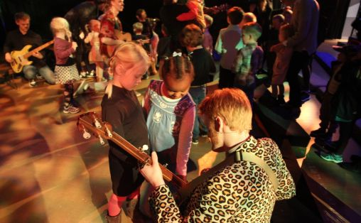 Ellevill barnekonsert. Foto: Askil Holm