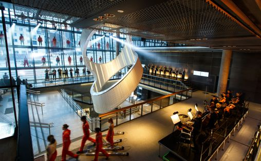 Orgelkraft. Fra framføringen av Nils Henrik Asheims åpningsstykke. Foto: Stavanger konserthus/Bo B. Randulff