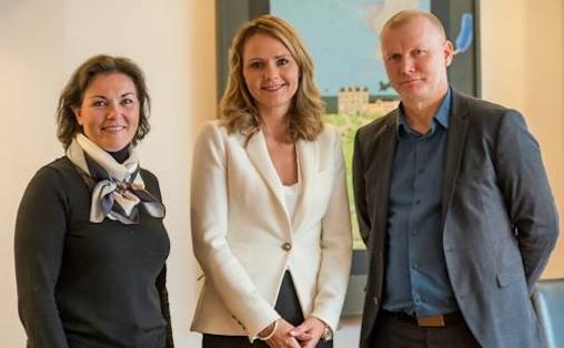 F.v. Birgitte Jordahl, Linda Hofstad Helleland og Ådne Sekkelsten. Foto: Lars Opstad/Rikskonsertene.