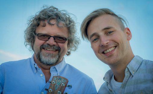 Steen-Vidar Larsen og Jakop Janssønn Foto: Lars Opstad Rikskonsertene