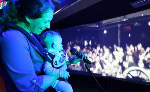 Babyomvisning Foto: Ranveig Stende Johnsen / Popsenteret