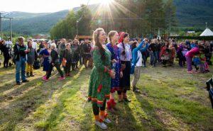 Riddu Riddu festivalen Foto: Andreas Kalvig Anderson